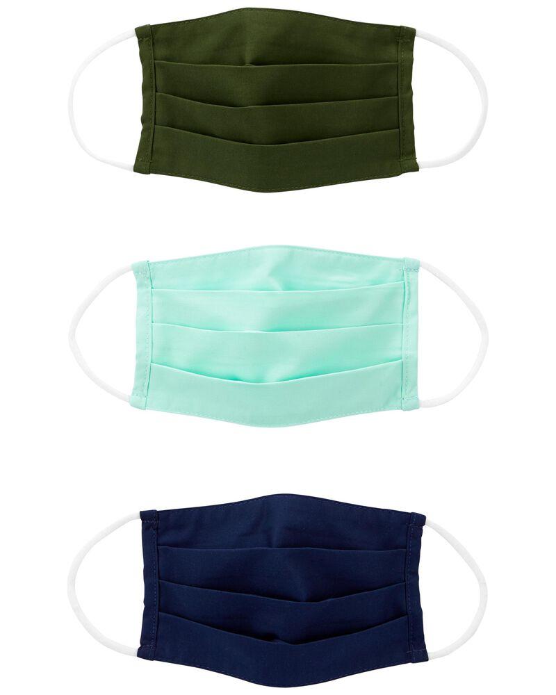 3-Pack Face Masks, , hi-res