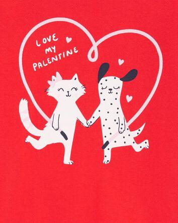 T-shirt en jersey Saint-Valentin