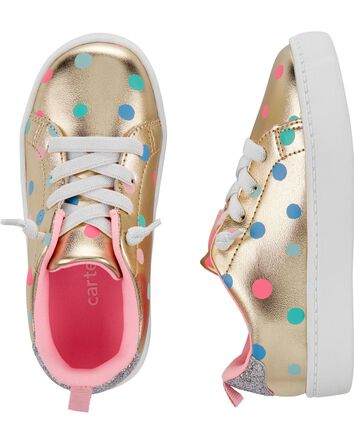 Polka Dot Platform Sneakers