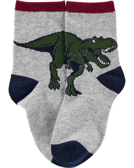 3-Pack Dinosaur Socks