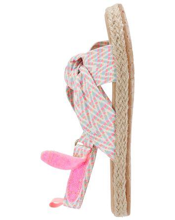 Sandales à nœud