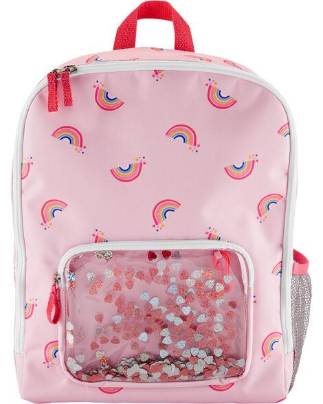 OshKosh Rainbow Confetti Backpack