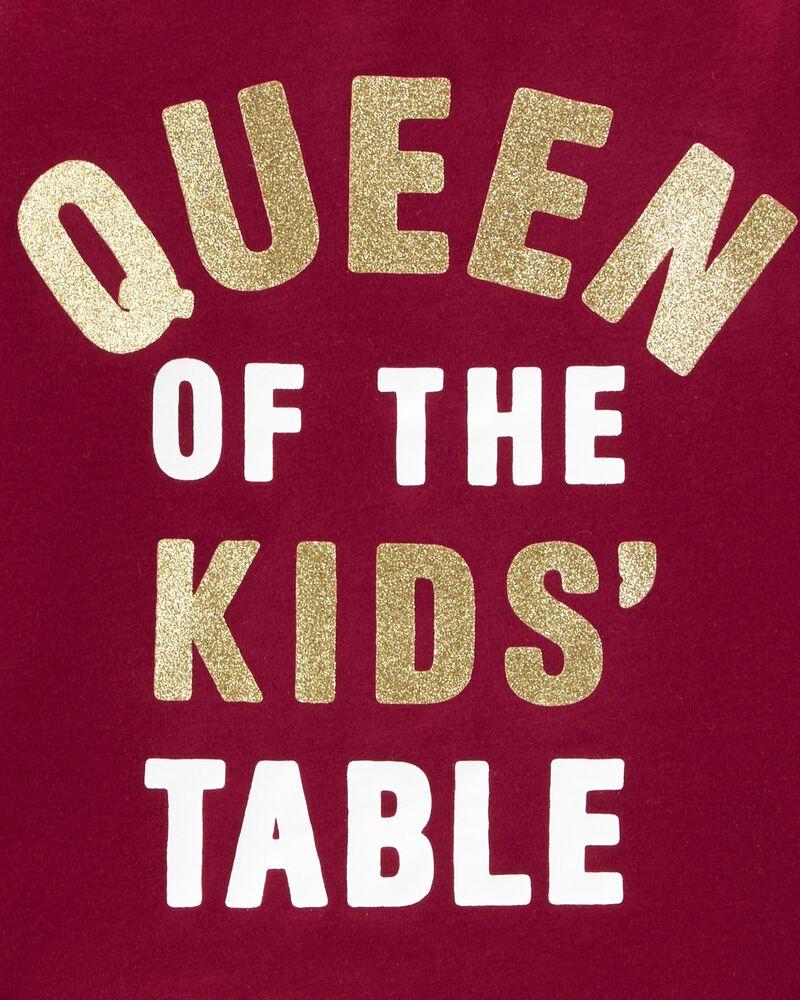 T-shirt en jersey Queen Of The Kid's Table , , hi-res