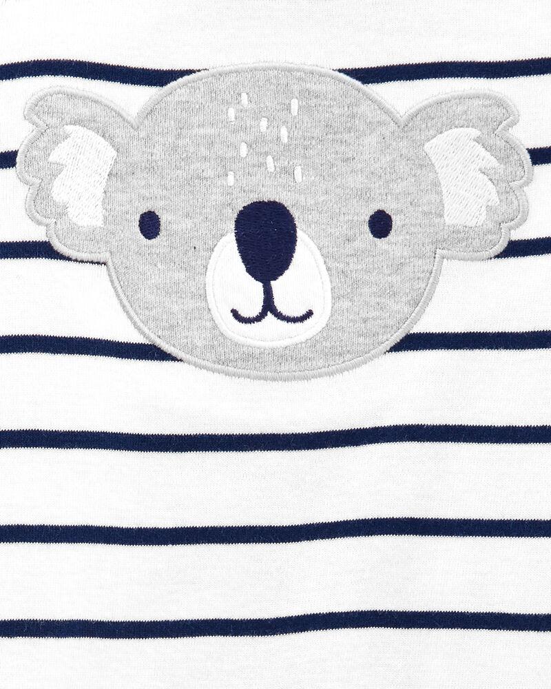 Ensemble 2 pièces cache-couche à koala et pantalon , , hi-res