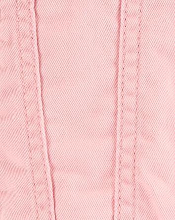 Blouson en jersey à œillets