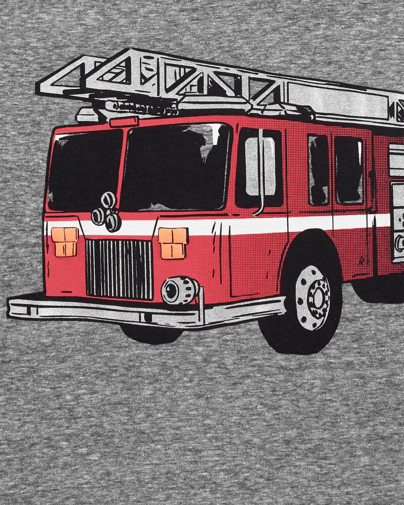 Firetruck Snow Yarn Jersey Tee, , hi-res
