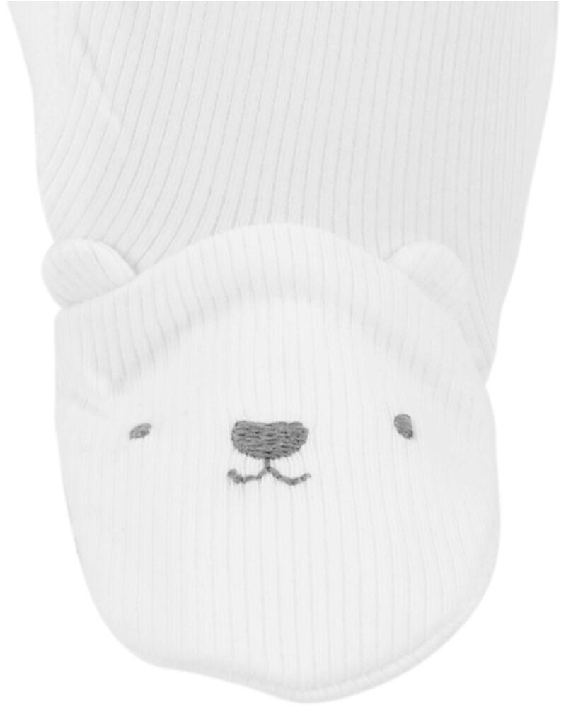 Bear Snap-Up Stretch Sleep & Play, , hi-res