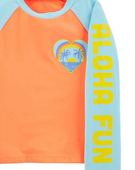 Ensemble maillot dermoprotecteur Aloha