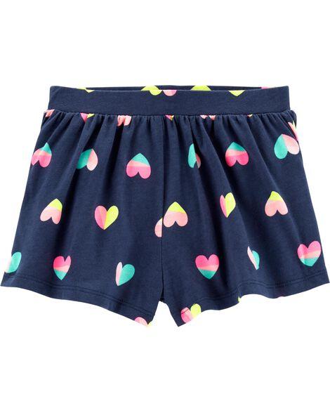 Heart Flowy Shorts