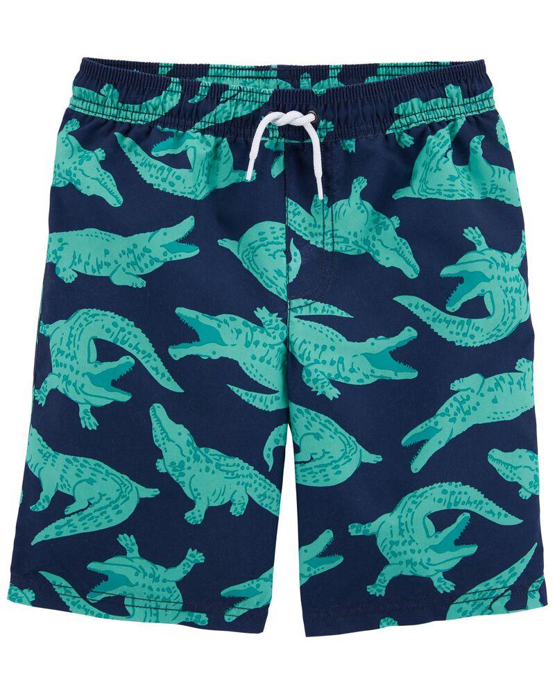 Alligator Swim Trunks, , hi-res