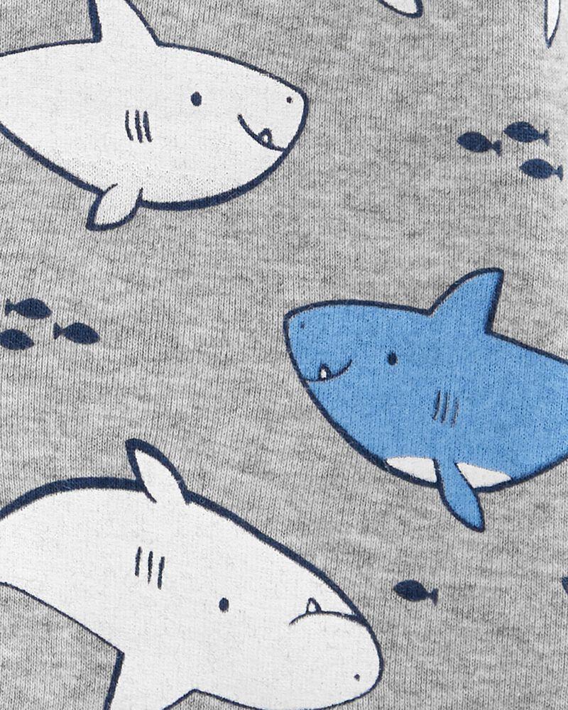 Whale Snap-Up Romper, , hi-res