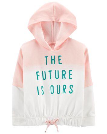 Tween Future Is Ours Cropped Hoodie
