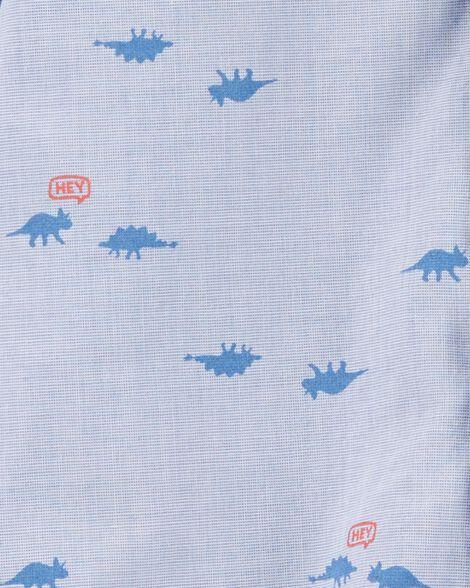 Cache-couche boutonné devant motif dinosaure