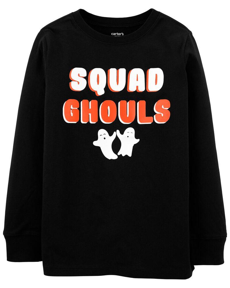 T-shirt en jersey Halloween Squad, , hi-res