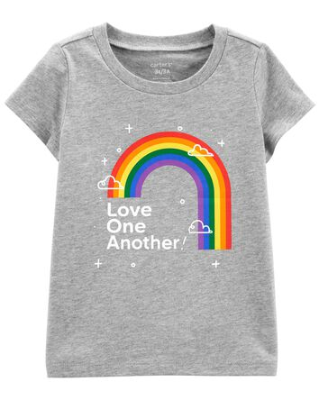T-shirt en jersey Love One Another