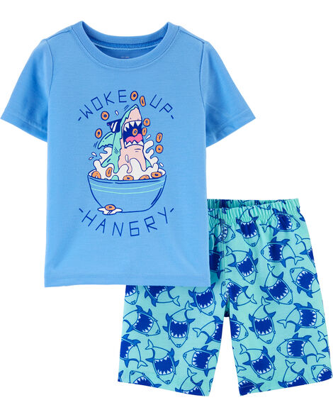Pyjama avec requin fâché
