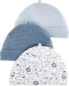 3 bonnets pour bébé, , hi-res