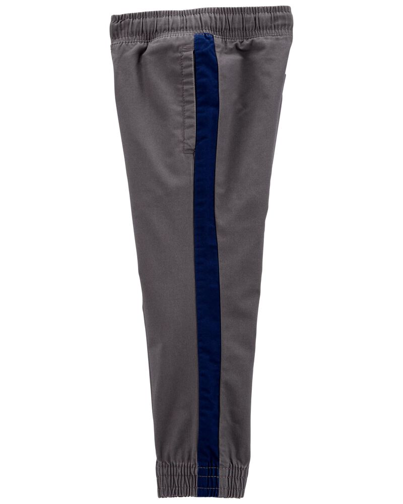 Pantalon à enfiler en sergé, , hi-res