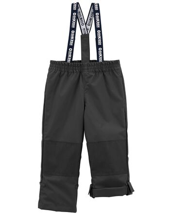 Fleece-Lined Midweight Snow Pants