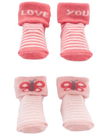 Emballage de 2 paires de chaussons...
