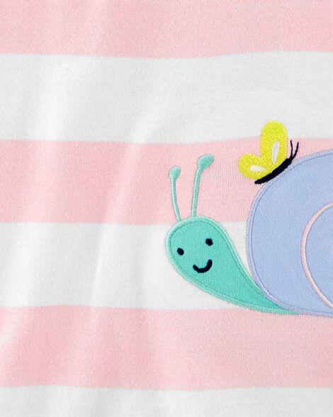 Striped Snail Romper