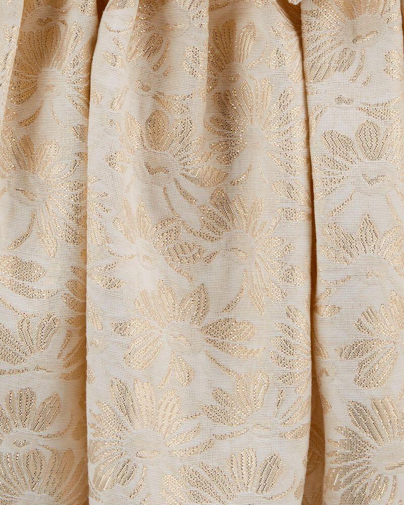 Floral Jacquard Special Occasion Dress , , hi-res