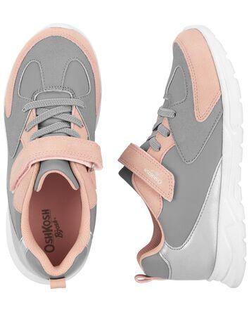 Silver Colourblock Sneakers