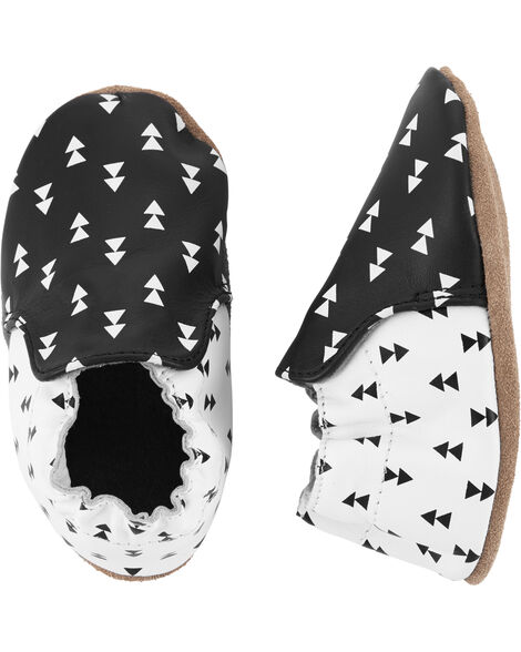 Geo Print Soft Sole Baby Shoes