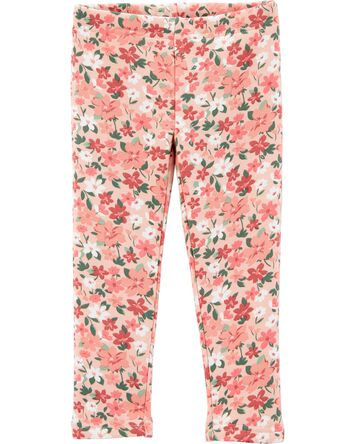 Floral Cozy Fleece Leggings