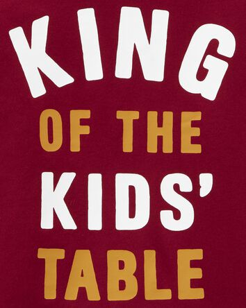 King Of The Kid's Table Jersey Tee