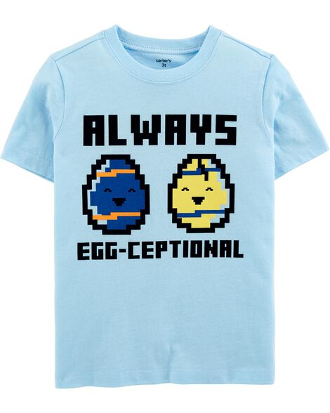 T-shirt en jersey Egg-Ceptional