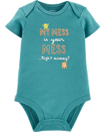 My Mess Is Your Mess Bodysuit
