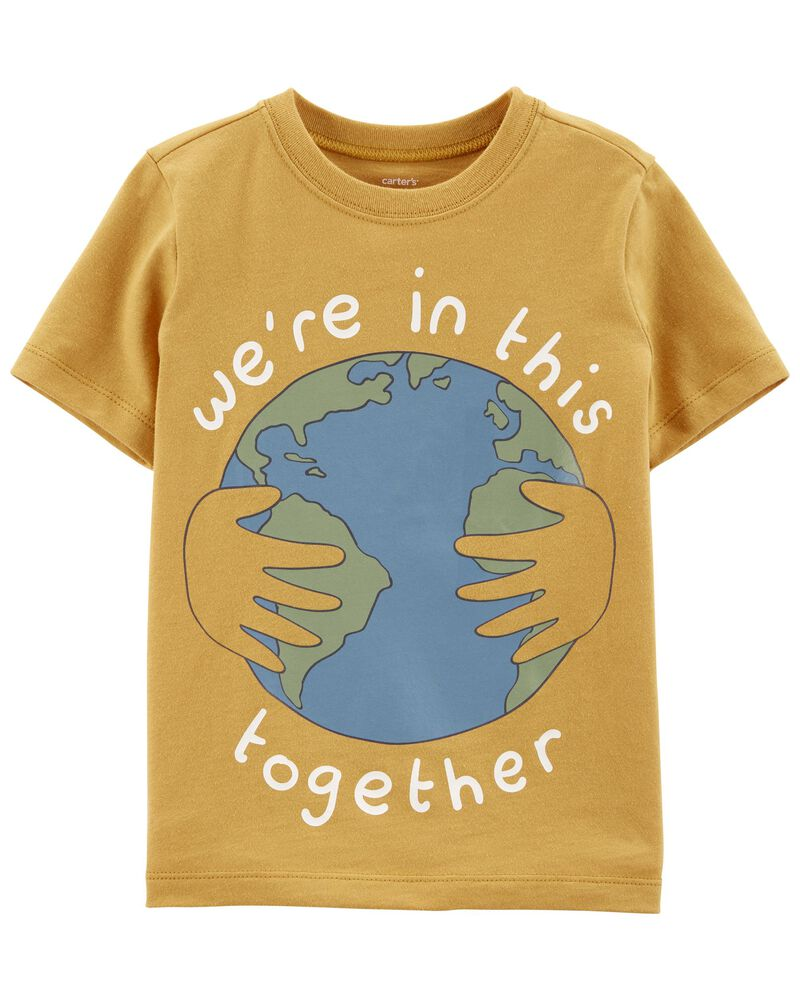 T-shirt en jersey World, , hi-res