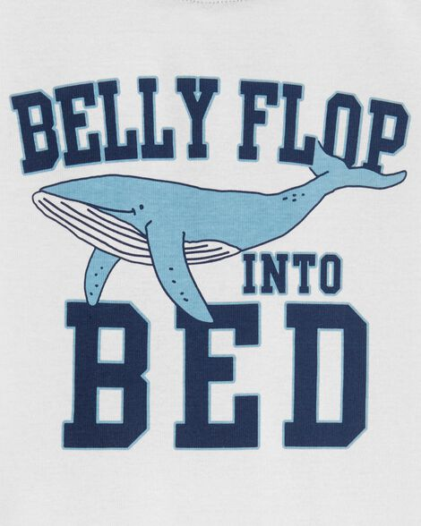 Pyjama 3 pièces en polyester à baleines