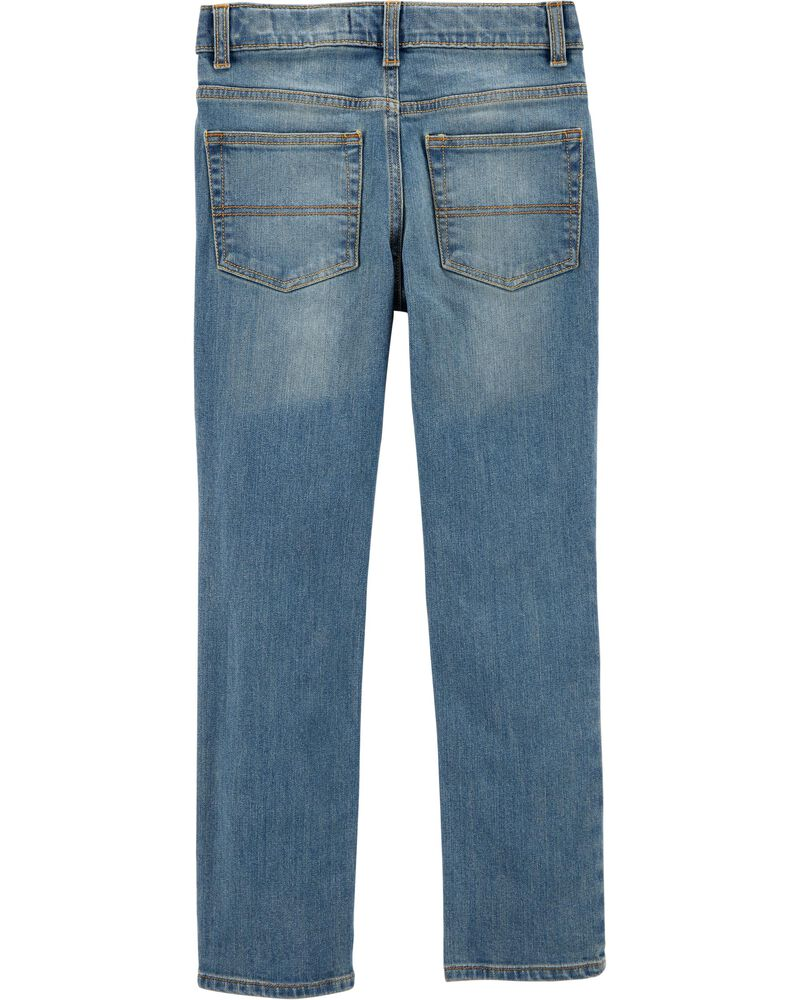 Skinny Jeans - Tumbled Light Wash, , hi-res