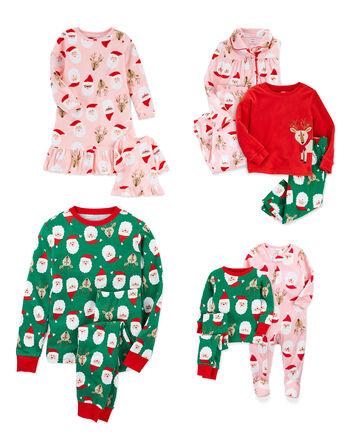 Pyjamas des Fêtes à Père Noël pour...