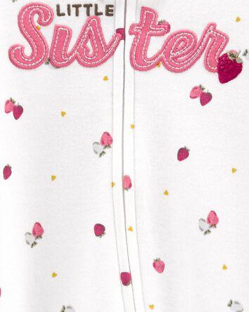 Little Sister 2-Way Zip Cotton Slee...