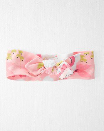 Organic Cotton Rib Headwrap