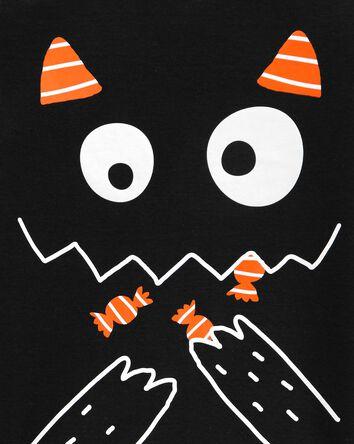 Pyjama chat d'Halloween 2 pièces en...