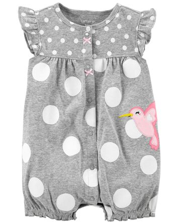 Bird Snap-Up Romper