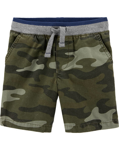Camo Easy Pull-On Dock Shorts