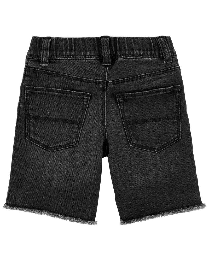 Rip & Repair Knit Denim Shorts, , hi-res