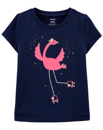 Flamingo Jersey Tee