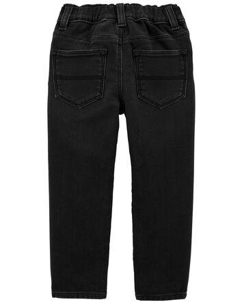 Jeans en tricot de denim - coupe ét...