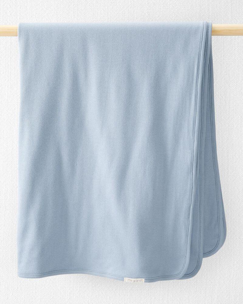 Couverture en coton côtelé biologique, , hi-res