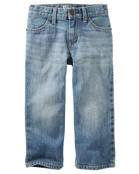 Jeans classique - indigo naturel