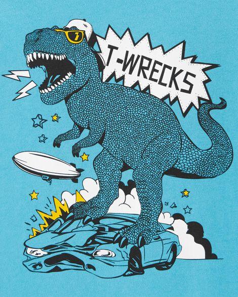 T-Rex Car Jersey Tee