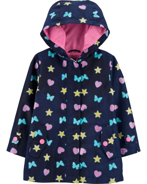 Butterfly Color-Changing Raincoat