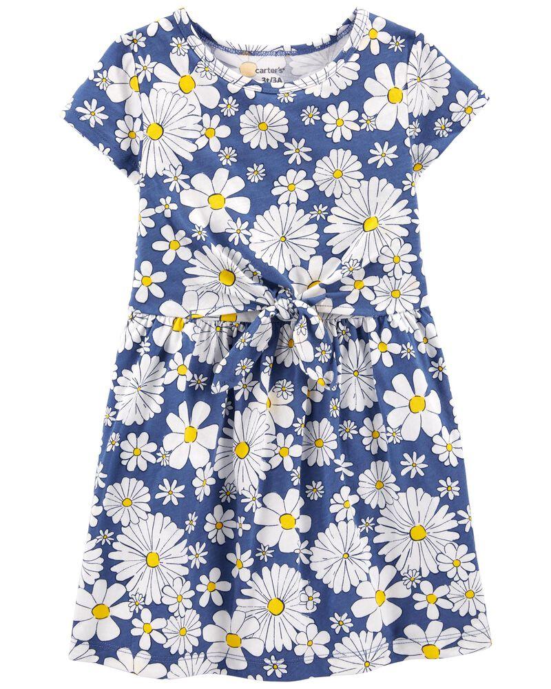 Daisy Jersey Dress, , hi-res
