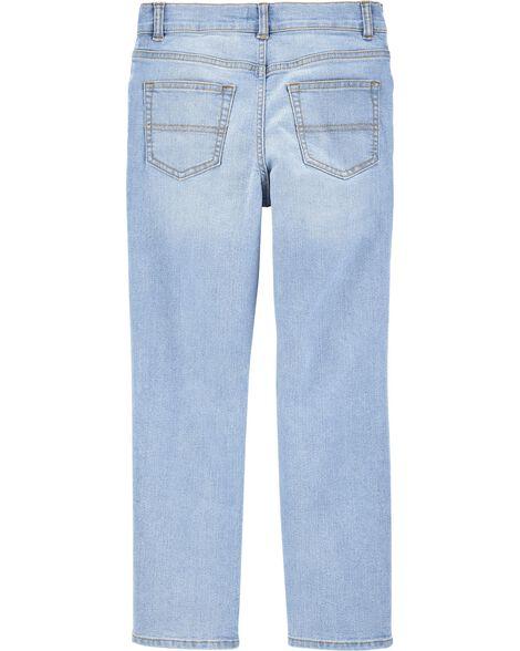 Jeans extensible déchiré - coupe étroite